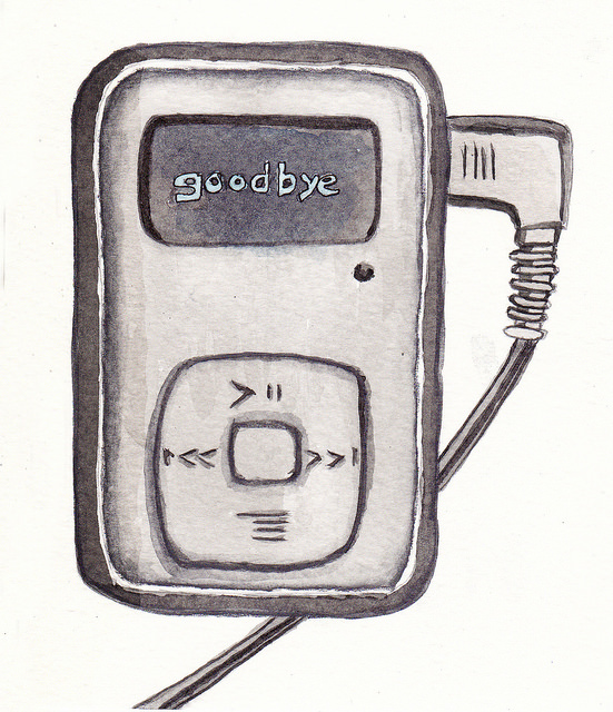 illustration of an mp3 player by https://www.flickr.com/photos/hills_alive